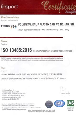ISO 13485-2016 Belgesi