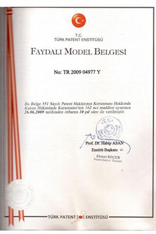 Utility Model Certificate